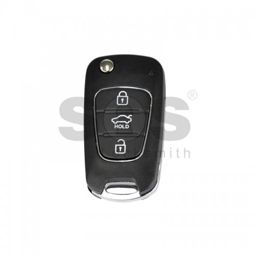 Универсално дистанционно с ключ за автомобил B04