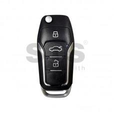 Универсално дистанционно с ключ за автомобил B12-3