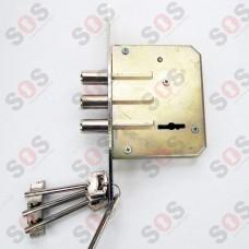 Допълнителна касова брава метал