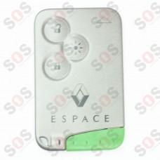 Оригинален ключ карта за Renault Espace