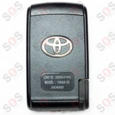 Оригинален ключ за Toyota 14AAA-02 Denso