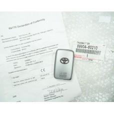 Оригинален ключ за Toyota B53EA 89904-60210