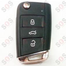 Оригинален ключ за VW 5GO959753AA