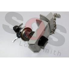 Допълнителна брава за вътрешен монтаж с верига