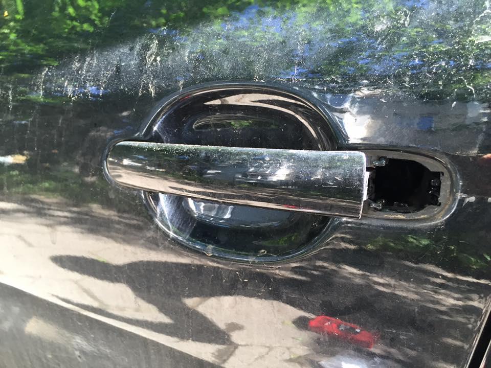 Поправка на ключалка на Seat Leon 2008 след опит за кражба