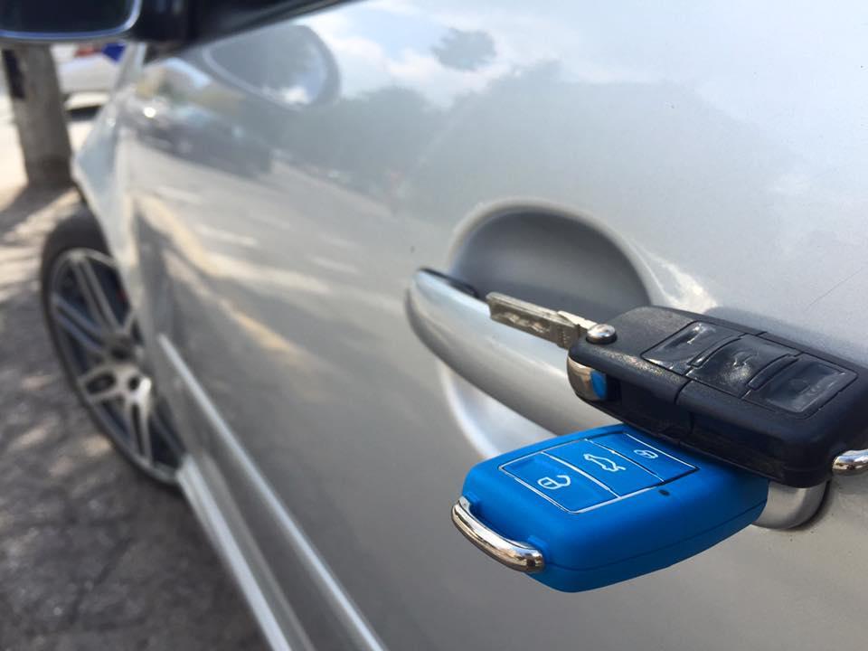 Изработка на ключ от серията BLUE EDITION на VW GOLF 5